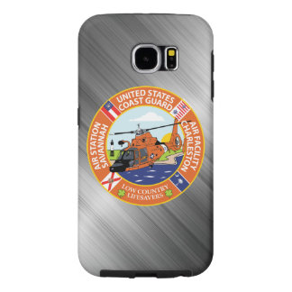 Coast Guard Air Station Savannah, Georgia Samsung Galaxy S6 Cases