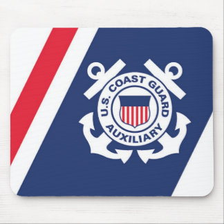 Coast Guard Auxiliary Mose Pad Mouse Pad