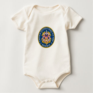 coast guard baby out fit baby bodysuit