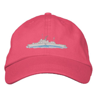 Coast Guard Boat Embroidered Hat