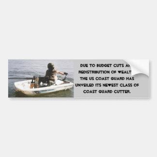 Coast Guard Budget Cuts Bumper Sticker
