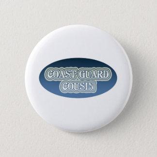 Coast Guard Cousin 2 Inch Round Button