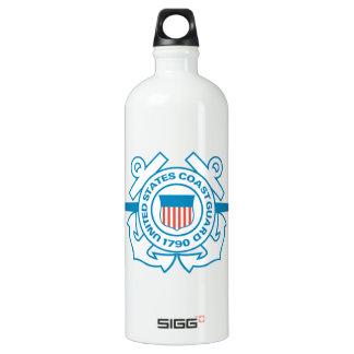 Coast Guard emblem Water Bottle