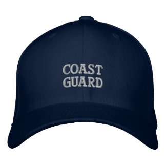 Coast Guard Embroidered Hat