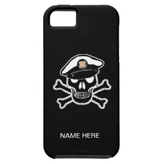 Coast Guard Enlisted Scull & Crossbones iPhone 5 Cover
