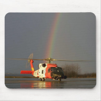 Coast Guard H-60 Mouse Pad