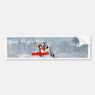 Coast Guard Helicopter Bumper Sticker