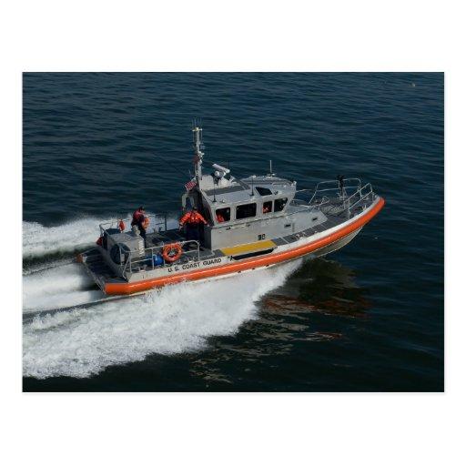 Coast Guard Patrol Postcard