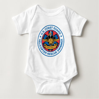 coast guard rescue swimmer baby bodysuit