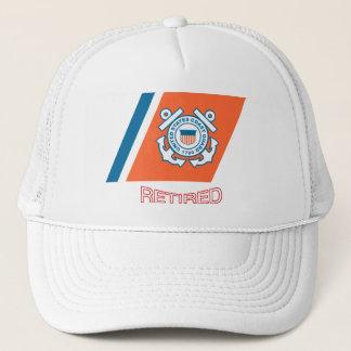 Coast Guard Retired Racing Stripe Hat