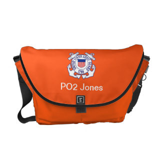 Coast Guard Search and Rescue Rickshaw Messenger Courier Bag