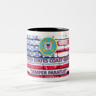 "Coast Guard ""Semper Paratus"" Coffee Cup"