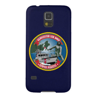 "Coast Guard Station Gloucester ""Navy Blue"" Galaxy S5 Case"
