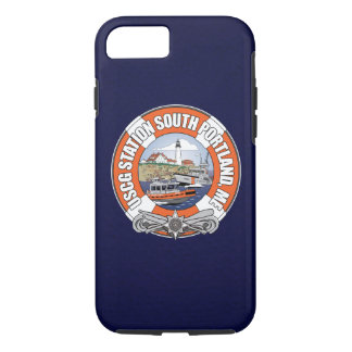 Coast Guard Station South Portland Maine iPhone 8/7 Case