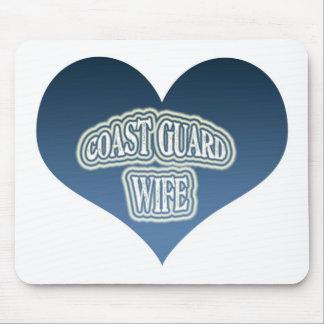 Coast Guard Wife Mouse Pad