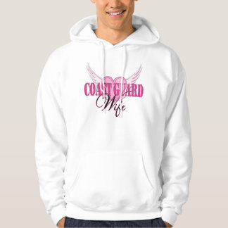 Coast Guard Wife Wings Hoodie