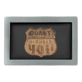 Coast Highway 101- Keep your pants on! Belt Buckle