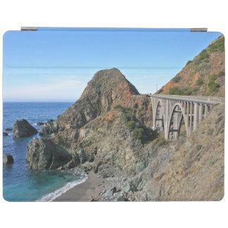 Coast Highway 1 - Big Creek Bridge iPad Cover