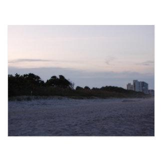 Coast line of Cocoa Beach Florida Postcard