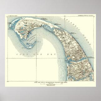 Coast Lines Provincetown Truro 10:8 Poster