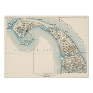 Coast Lines Provincetown Truro and Wellfleet Poster