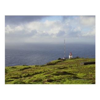 Coast Near Ponta do Pargo, Madeira, Portugal 2 Postcard