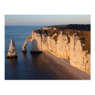 Coast of Etretat, Normandy, France Postcard