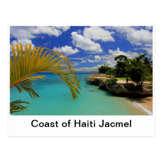 Coast of Haiti Postcard