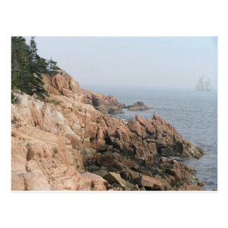 Coast of Maine Postcard
