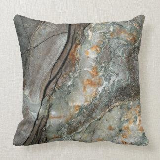 Coast of Maine Rocks, No 2 Throw Pillow