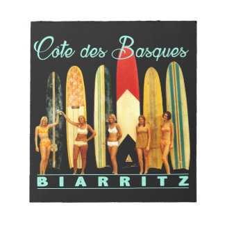Coast of the Biarritz Basques Notepad