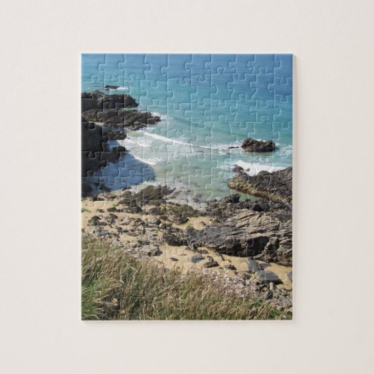 Coast Path near Padstow, Cornwall Jigsaw Puzzle