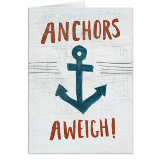 Coastal Art | Anchors Away Card