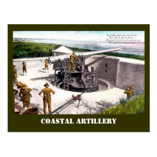 Coastal Artillery Postcard