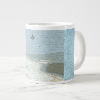Coastal Australia Large Coffee Mug