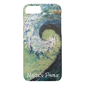 Coastal Beach Wave Abstract Art Case-Mate iPhone Case