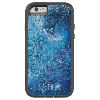Coastal Beach Wave Abstract Art Tough Xtreme iPhone 6 Case