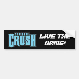 Coastal Crush Bumper Sticker