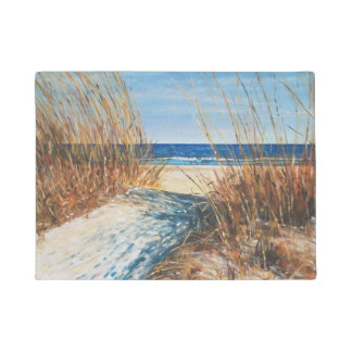 Coastal Decor Sand Dunes Beach Art | Doormat