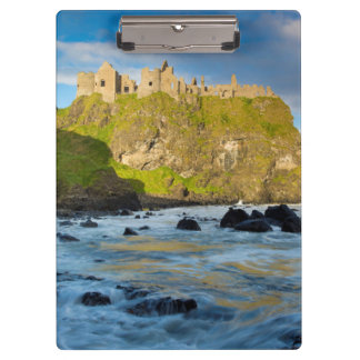 Coastal Dunluce castle, Ireland Clipboard
