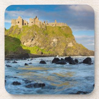 Coastal Dunluce castle, Ireland Coaster