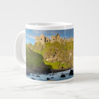 Coastal Dunluce castle, Ireland Large Coffee Mug