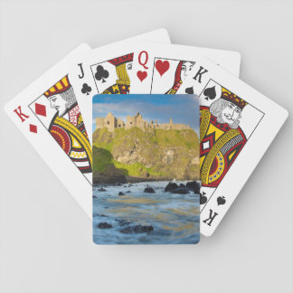Coastal Dunluce castle, Ireland Playing Cards
