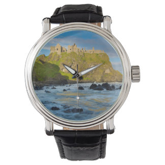 Coastal Dunluce castle, Ireland Wristwatches