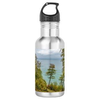 Coastal forest on the Baltic Sea coast 532 Ml Water Bottle