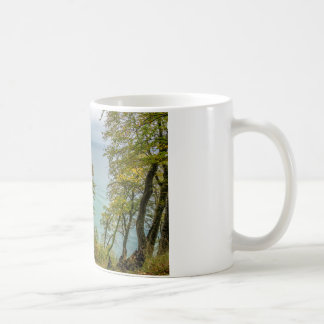 Coastal forest on the Baltic Sea coast Coffee Mug