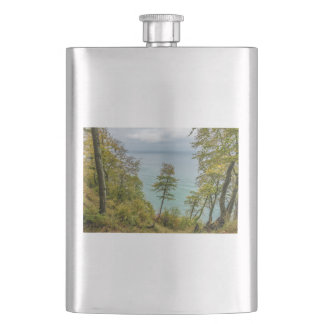 Coastal forest on the Baltic Sea coast Hip Flask