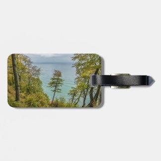 Coastal forest on the Baltic Sea coast Luggage Tag