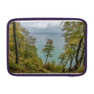 Coastal forest on the Baltic Sea coast MacBook Sleeve