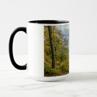 Coastal forest on the Baltic Sea coast Mug